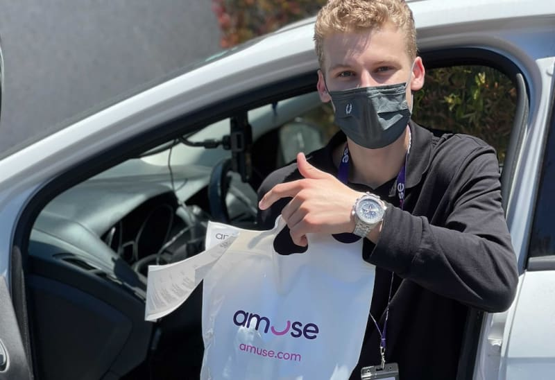 Amuse harnesses delivery, metrics, and product options to serve loyal customers