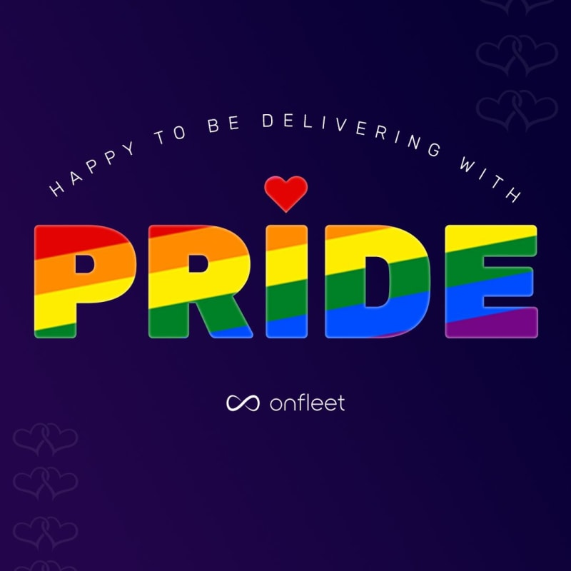 Onfleet supports Pride month