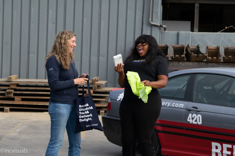 Onfleet's 100Mth delivery driver! Meet Peaches from Bento Cannabis Delivery