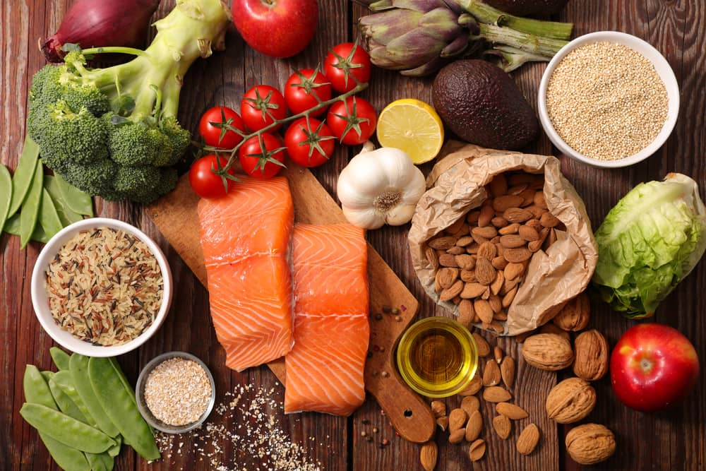 heart healthy diet after stent