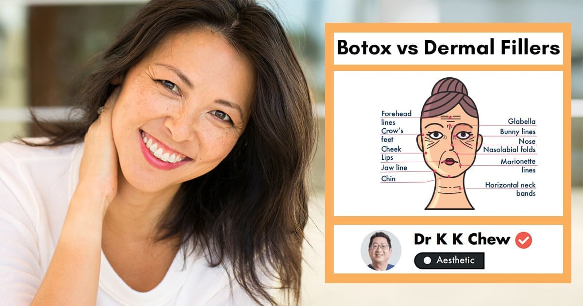 Botox vs Dermal Fillers in Singapore