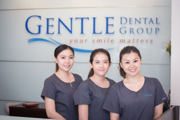 gentle dental review staff