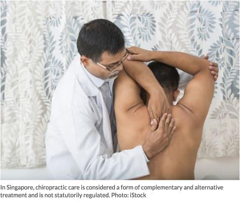 Singapore chiropractor
