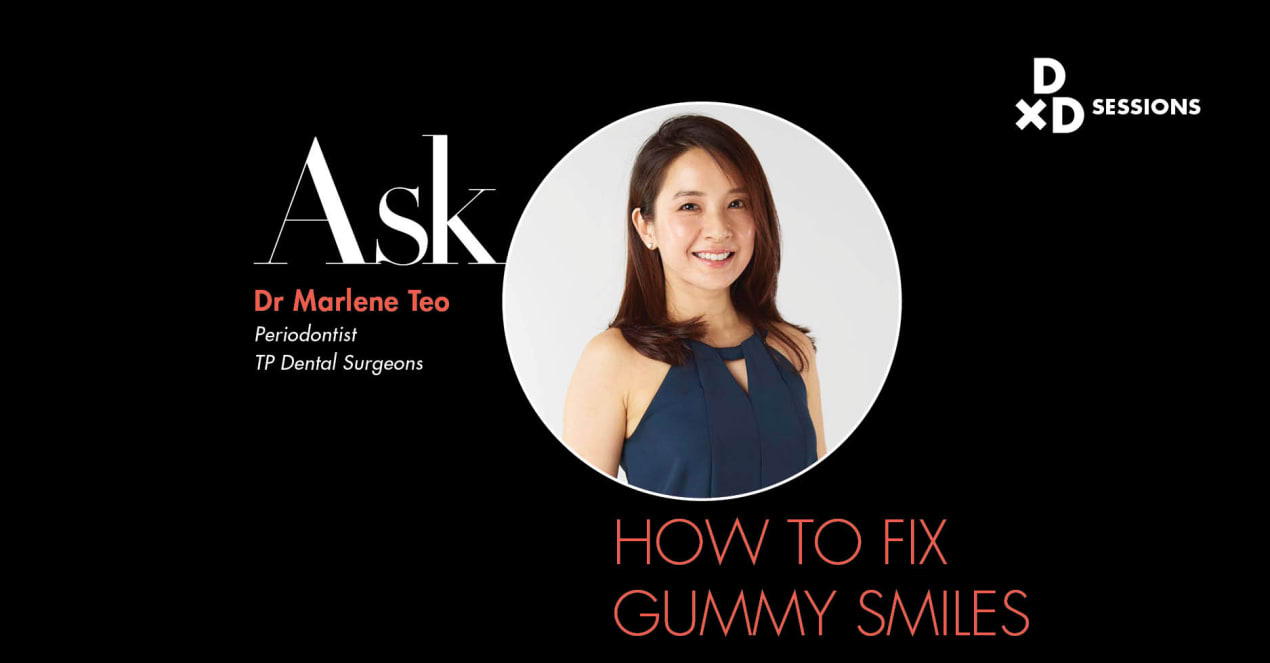 Ask Dr Marlene Teo: How To Fix Gummy Smiles undefined