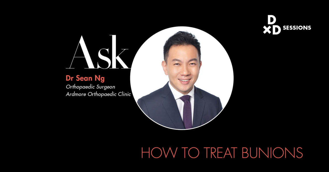 Ask Dr Sean Ng: How To Treat Bunions undefined