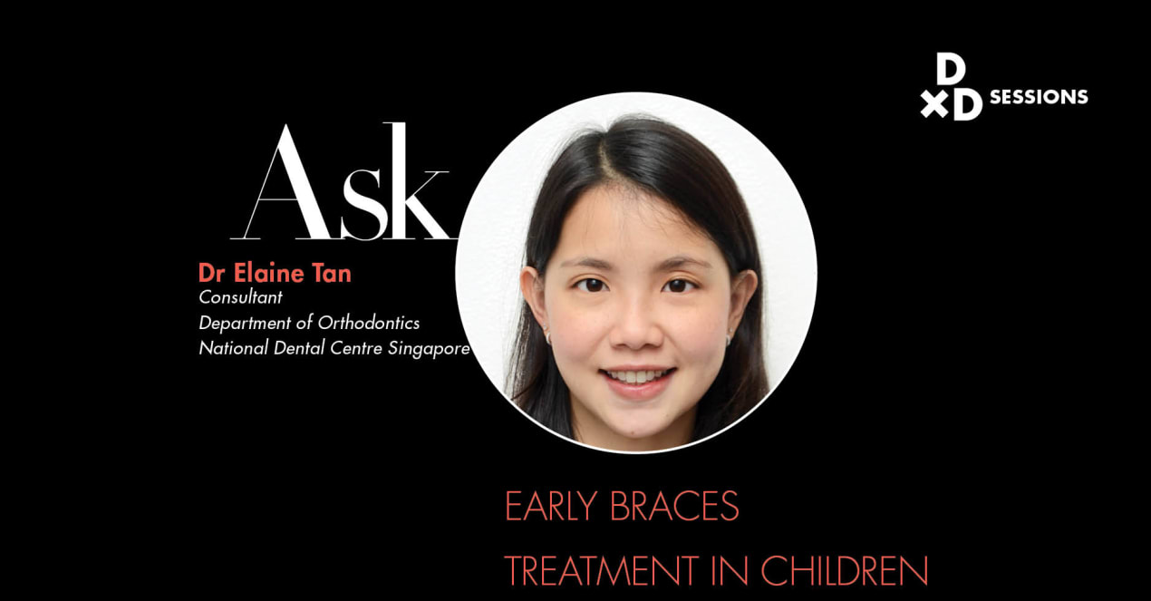 Ask Dr Elaine Tan:  Early Braces Treatment In Children undefined