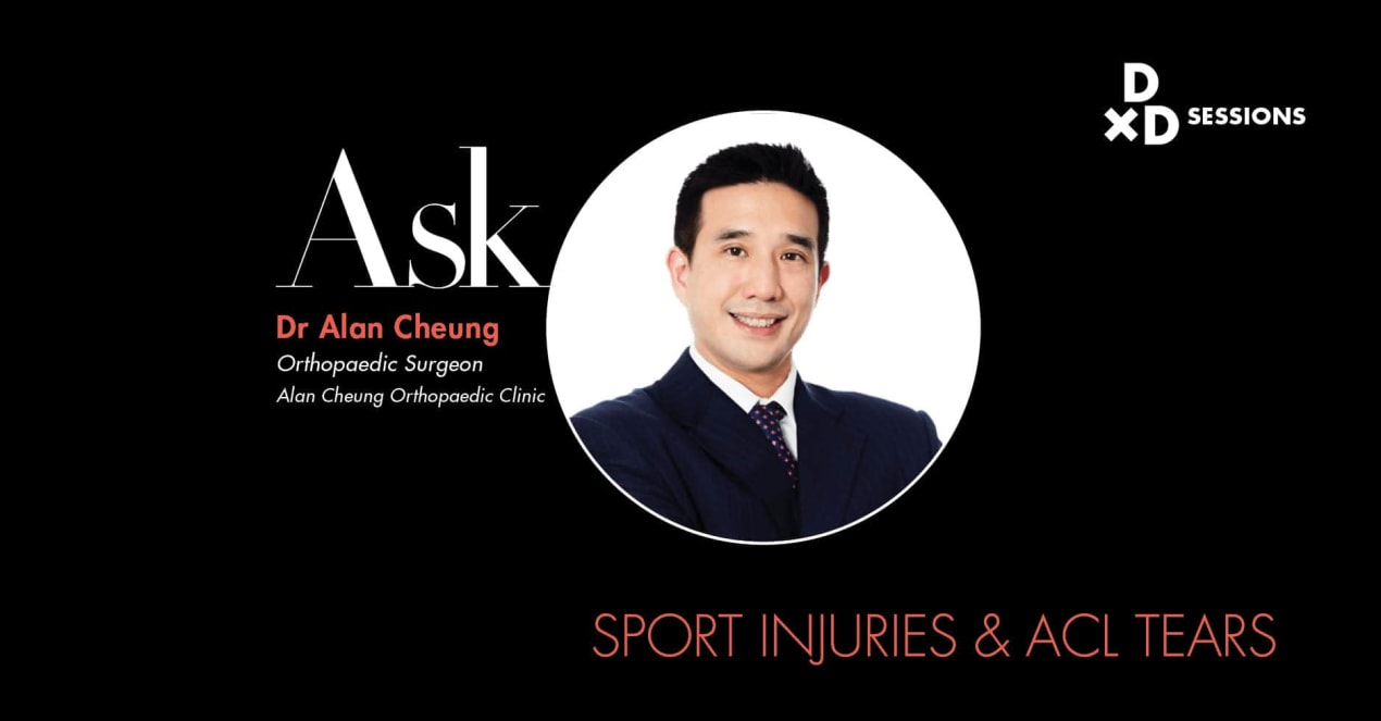 Ask Dr Alan Cheung: Sport Injuries & ACL Tears undefined