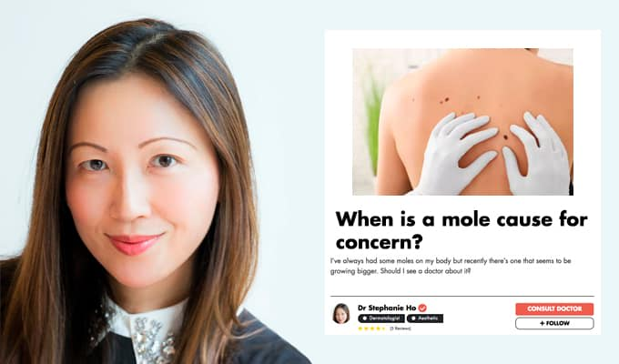 How Do You Know If Your Mole Is Cancerous? An Experienced Skin Doctor Gives Us The Low-Down undefined