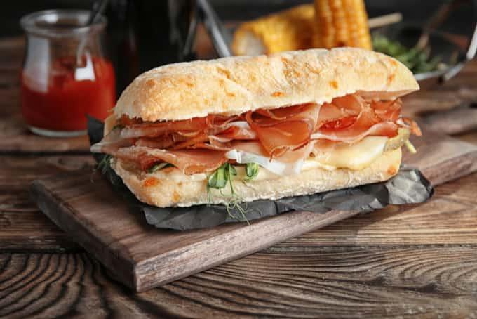 unhealthy sandwich singapore