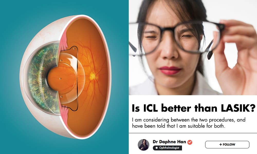Would You Insert Permanent Contact Lenses Into Your Eyes? This Singaporean Ophthalmologist Explains The Benefits Of This Procedure undefined