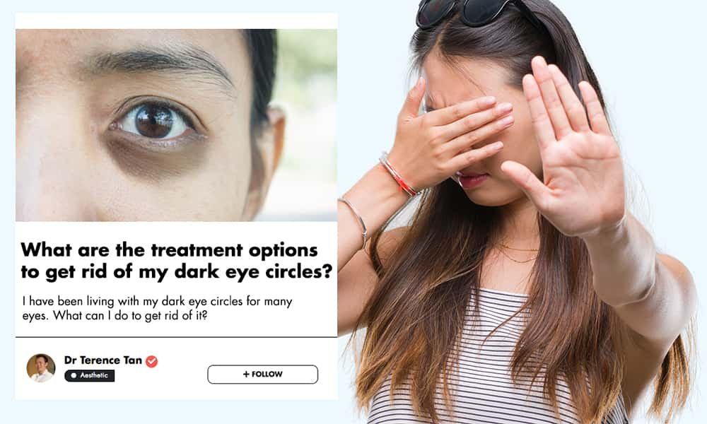 This Singaporean Aesthetic Doctor Shares His Insights On Removing Undereye Circles  undefined