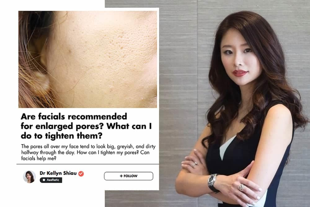 How To Minimise Big Pores? This Singaporean Aesthetic Doctor Gives You Her Best Advice undefined