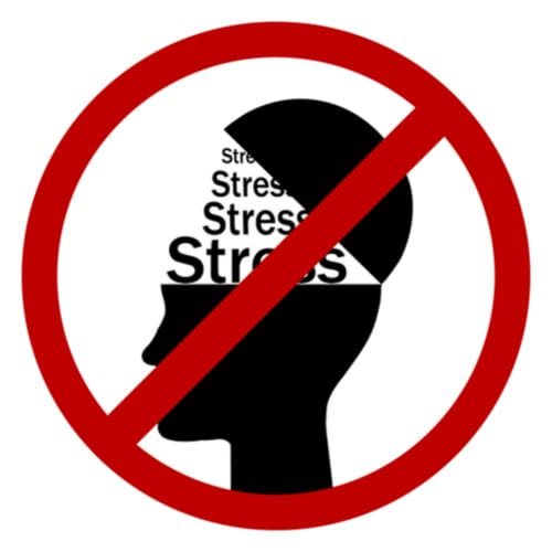 minimise stress for psoriasis