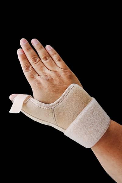 splint thumb for De-Quervain's tenosynovitis