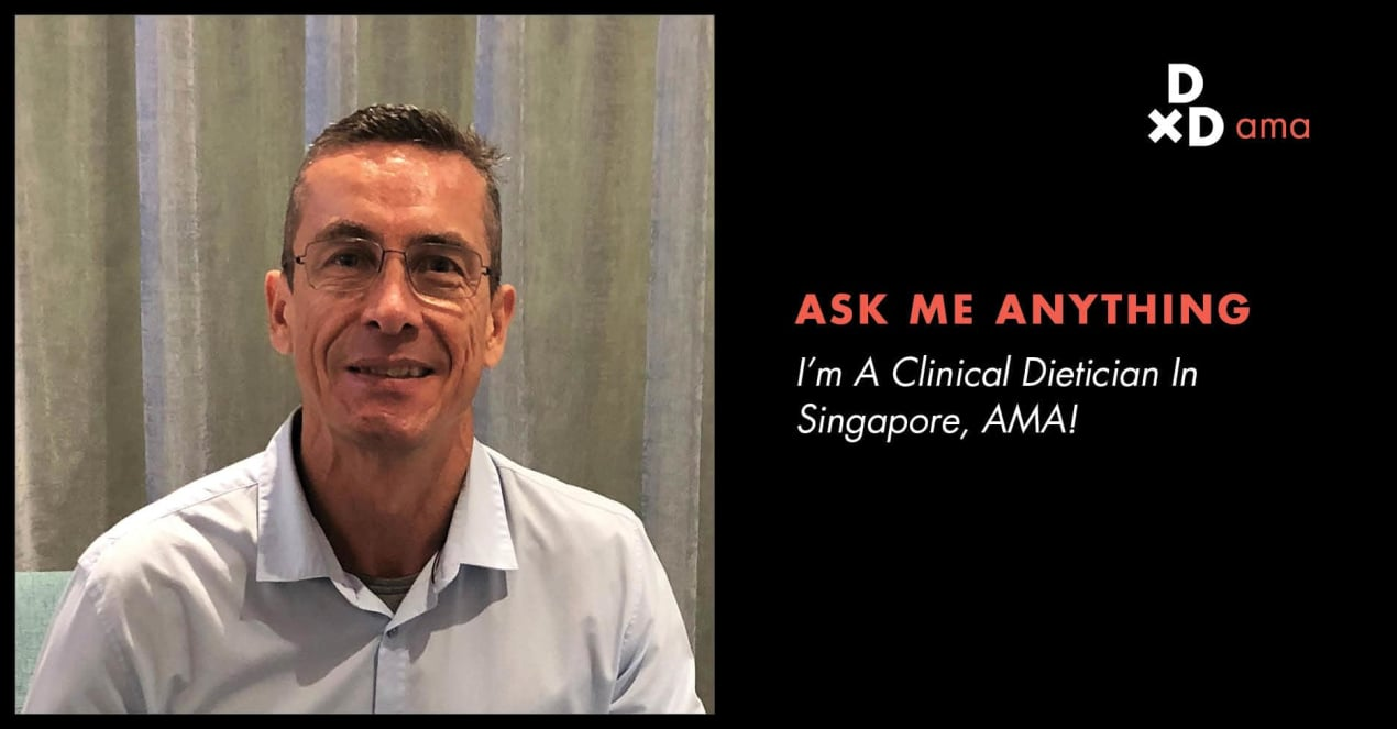 I Am A Clinical Dietician In Singapore, AMA! undefined