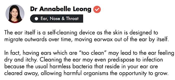 ear wax in children