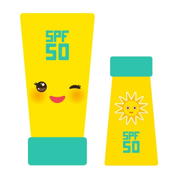 apply sunblock daily