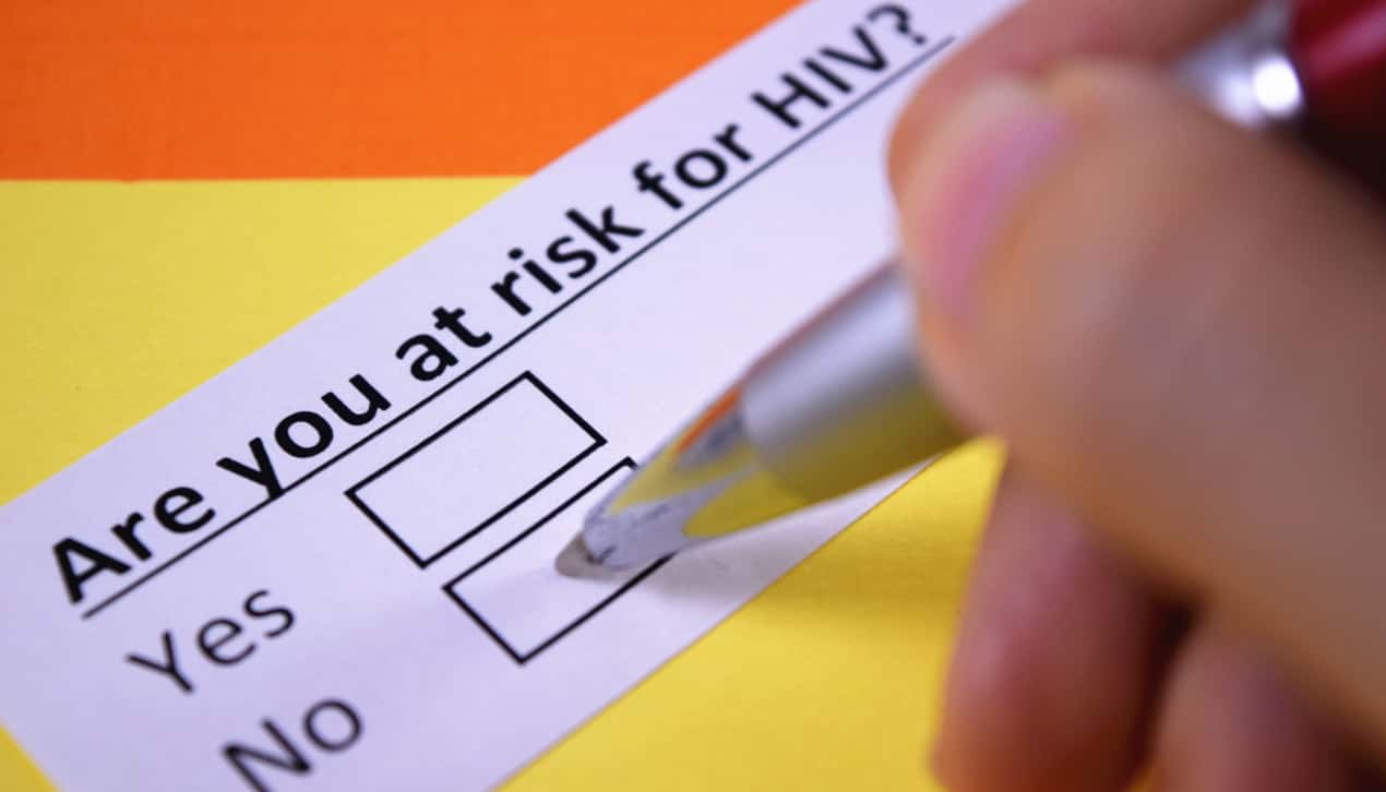 risk of HIV singapore