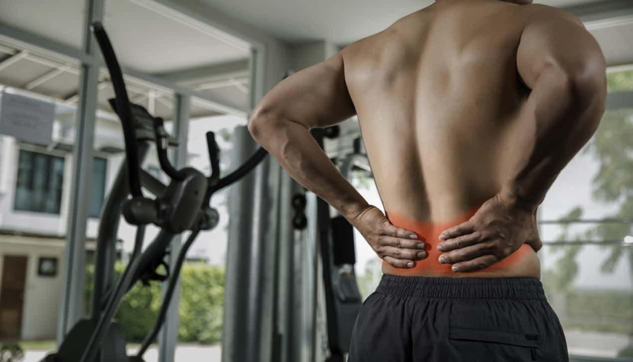 back injury from sports