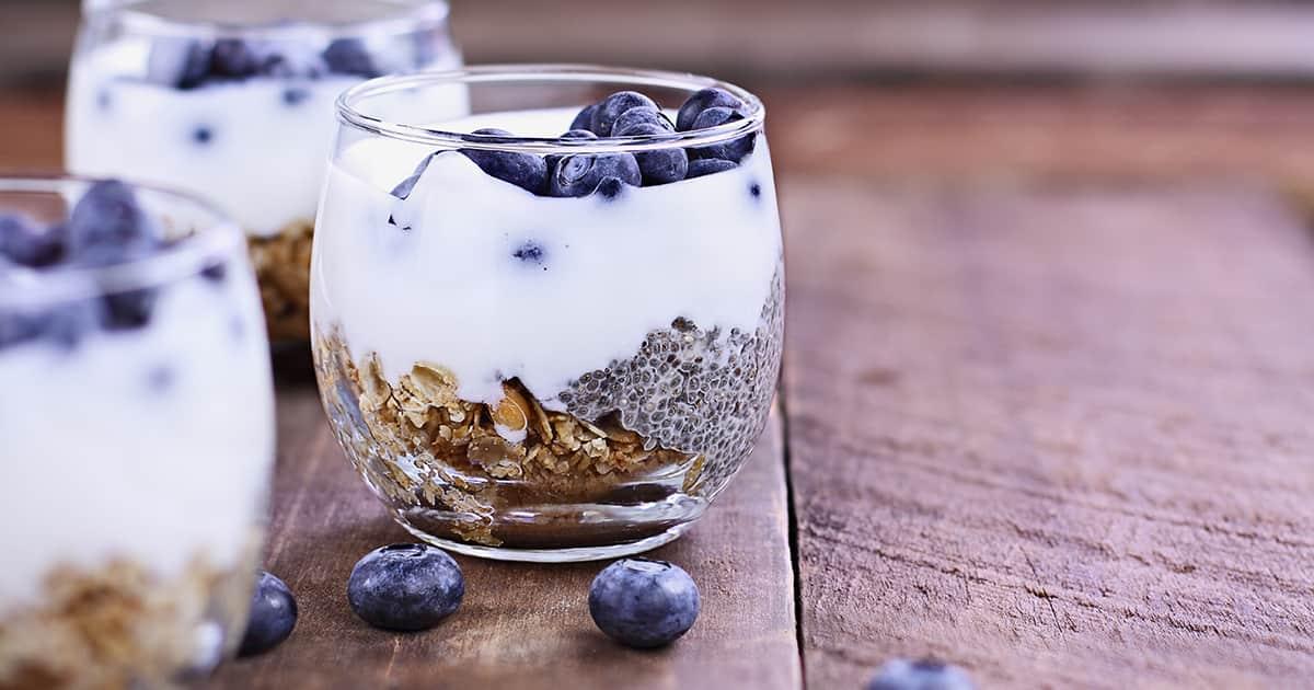 probiotic kefir yoghurt