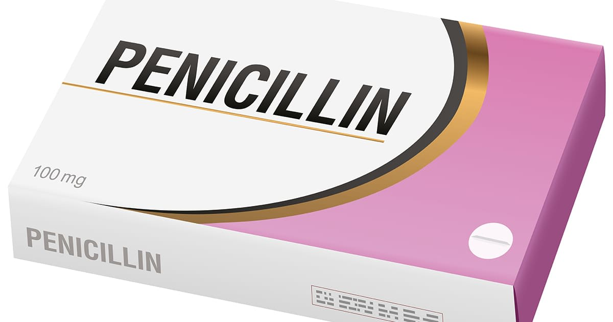 box of penicillin