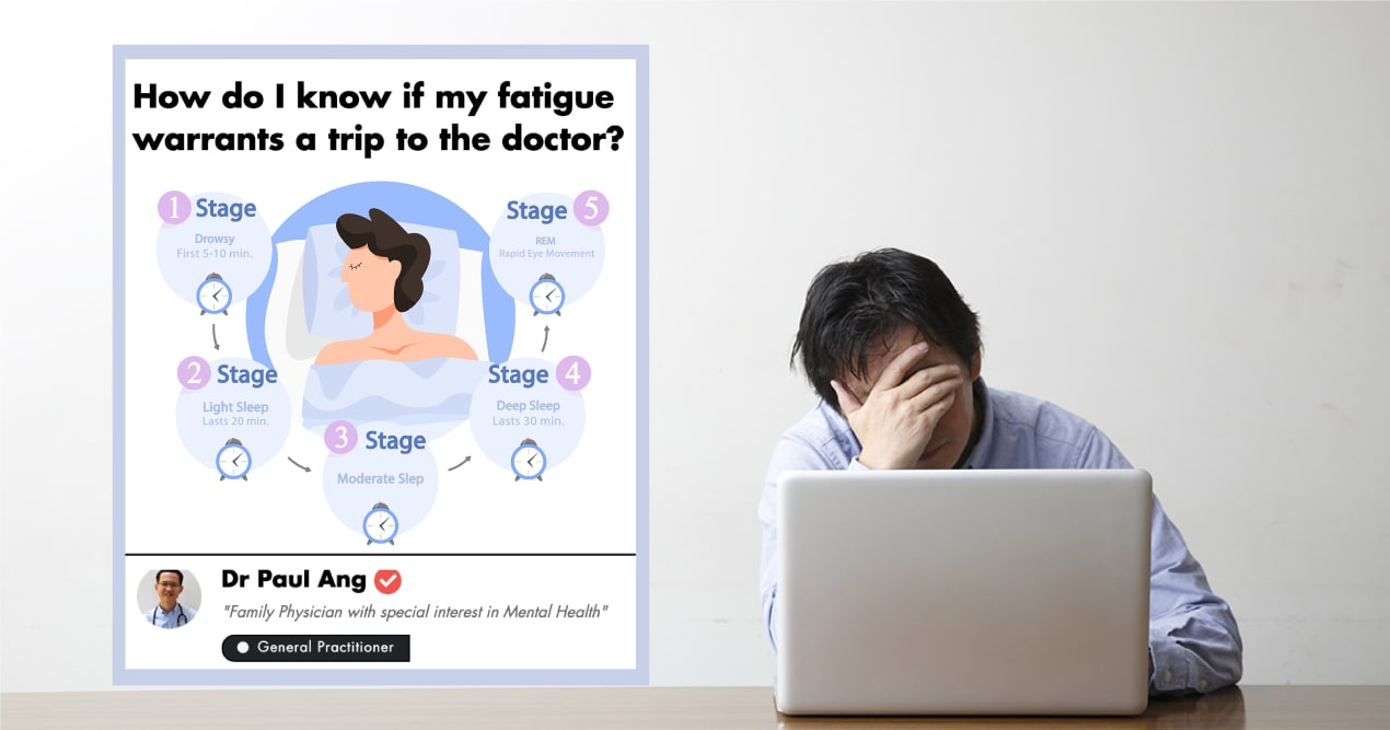 This Singaporean GP Shares Tips For Managing Fatigue In Adults And Children  undefined