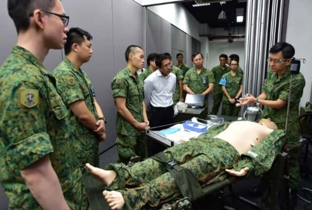 SAF Medical Officer 2