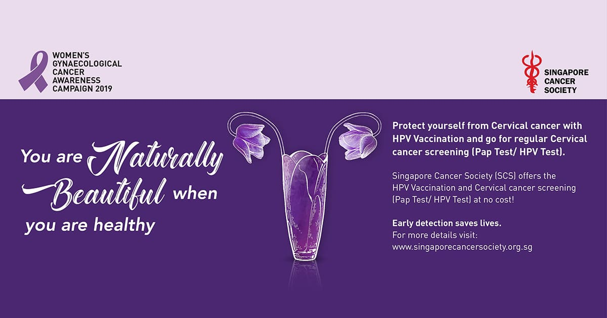 hpv vaccine singapore cancer society)