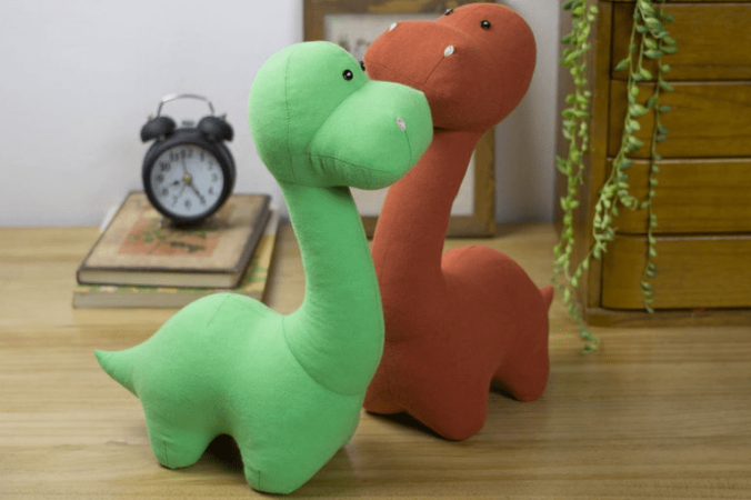 Stuffed Dinosaur Sewing Pattern