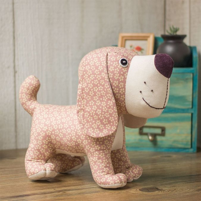 Stuffed Dog Toy Pattern