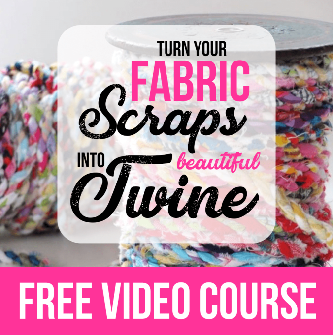 How to Weave Fabric Strips by Hand