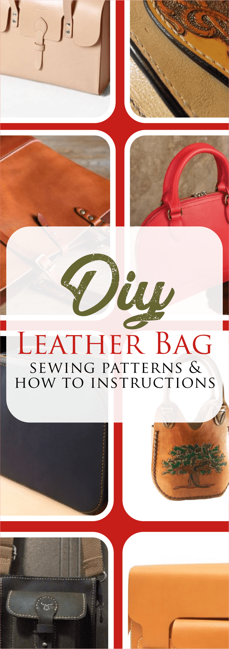 How to Make a Leather Bag Patterns