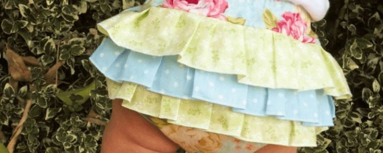 How to Make Baby Bloomers with Ruffles