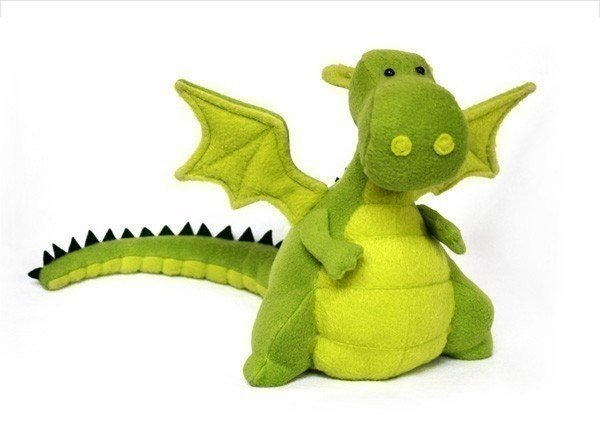Stuffed Dragon Pattern