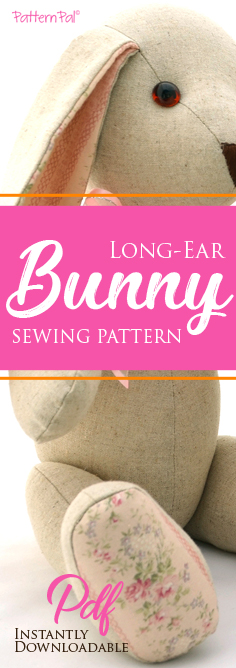 Long-ear Bunny Sewing Pattern
