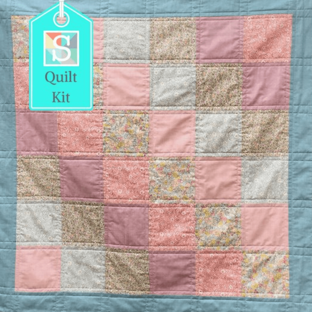 Pre-cut quilt kits for beginners