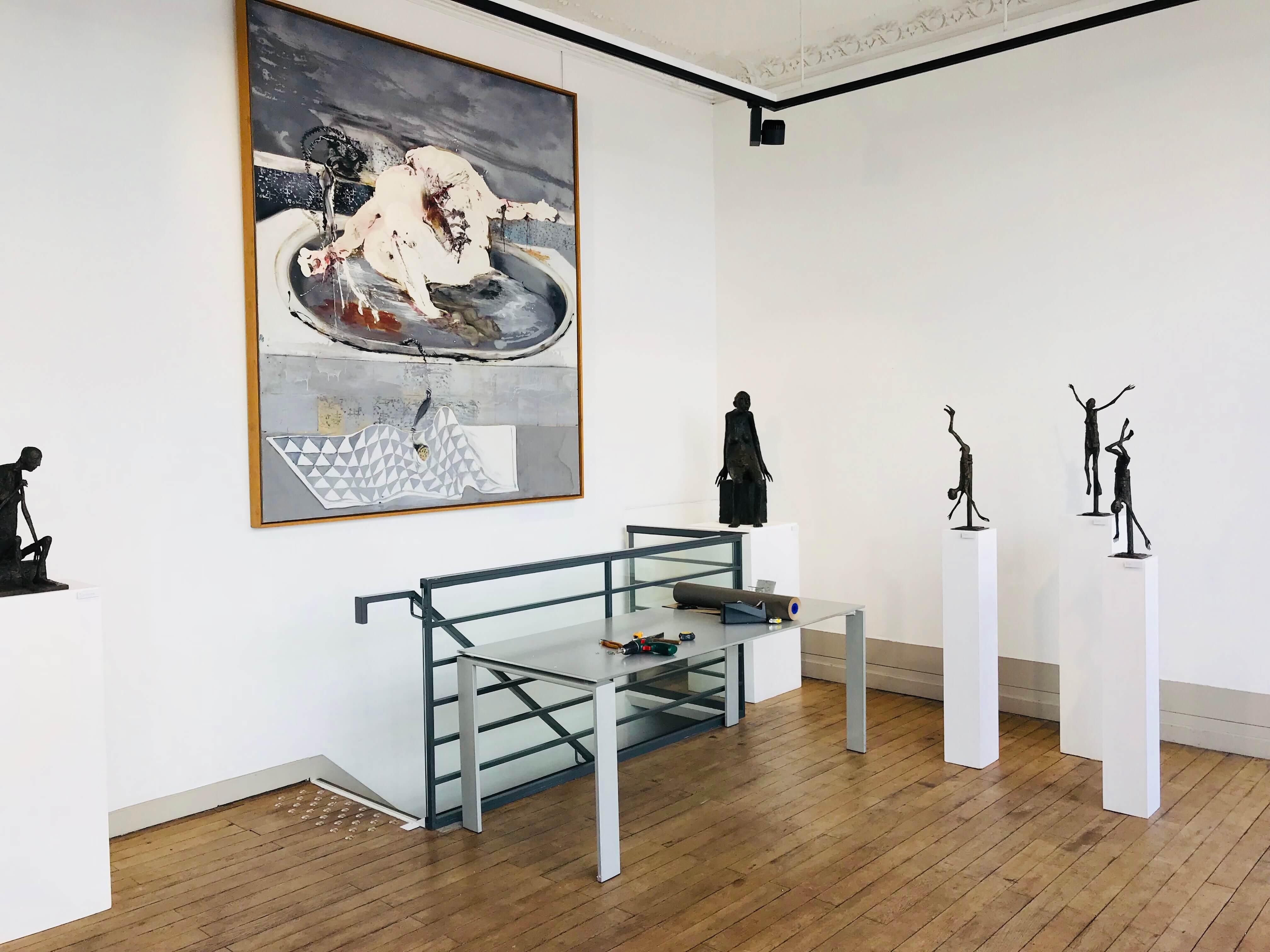 Image exposition rez-de-chaussée Galerie Artset
