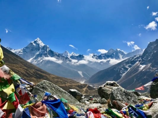 image 19 day charity Trek to Everest Base camp for the JDRF Charity.