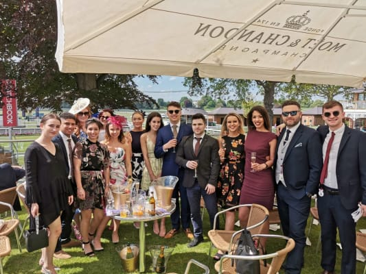image NJP Selection Team at the York Races