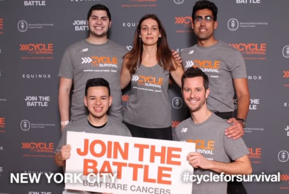 image Our New York office taking part in a fundraiser