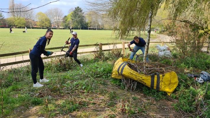 image Jake, Ellis and Aaron hard at work!