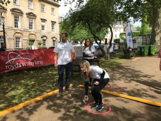 image Bristol team sports day