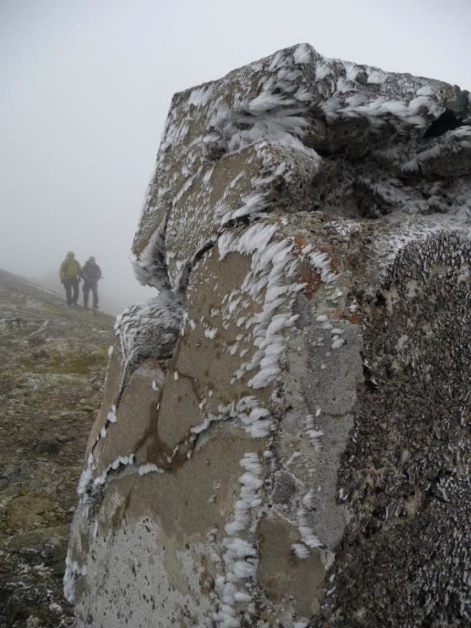 image Fund raising for Alzheimer's. Snowdon via Crib Goch route. A big challenge for a big cause.