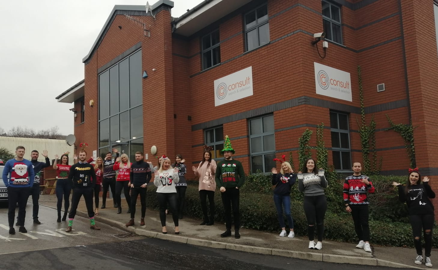 image Sheffield Office - Christmas jumper day