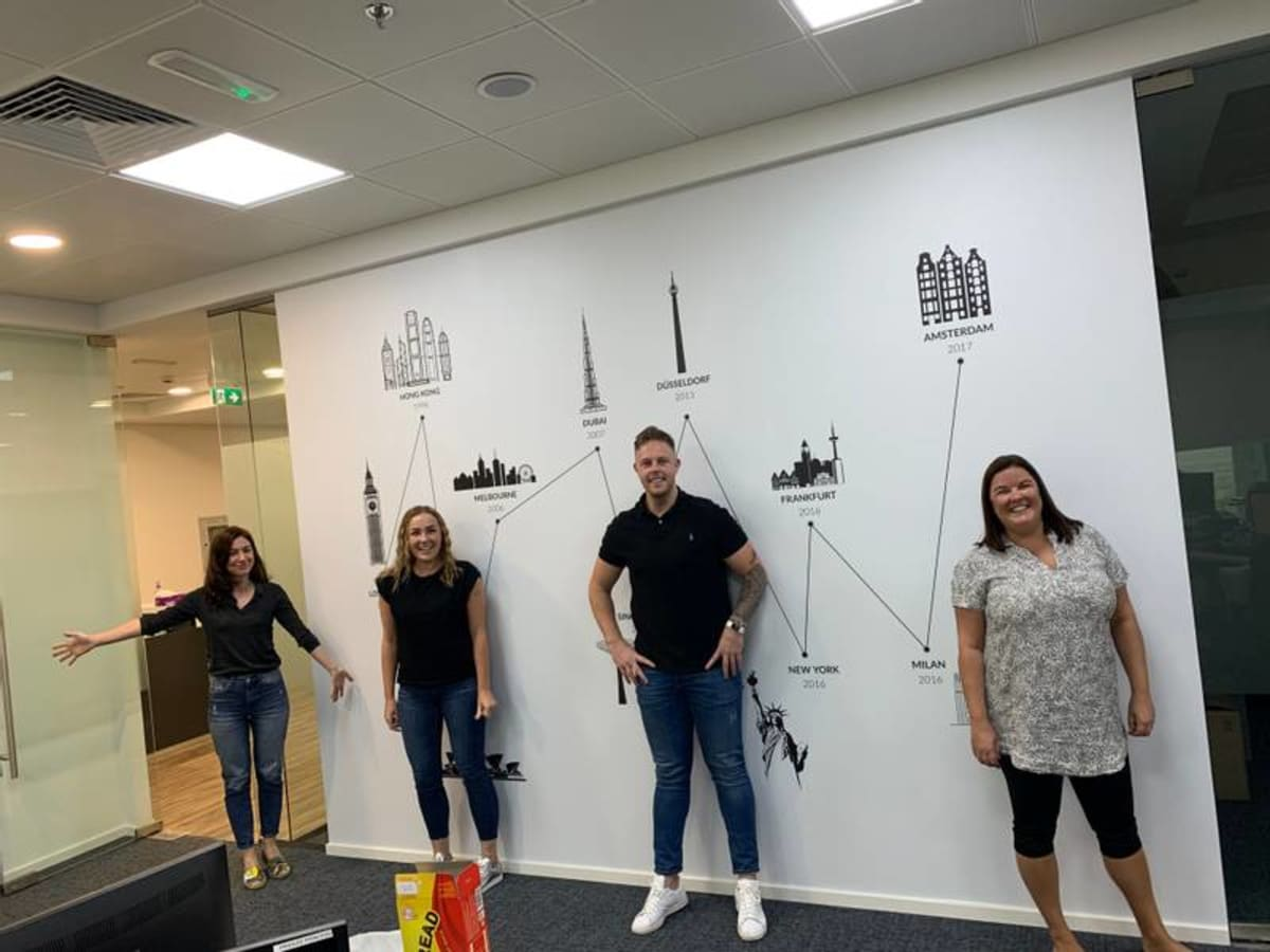 image Team Dubai back in the office