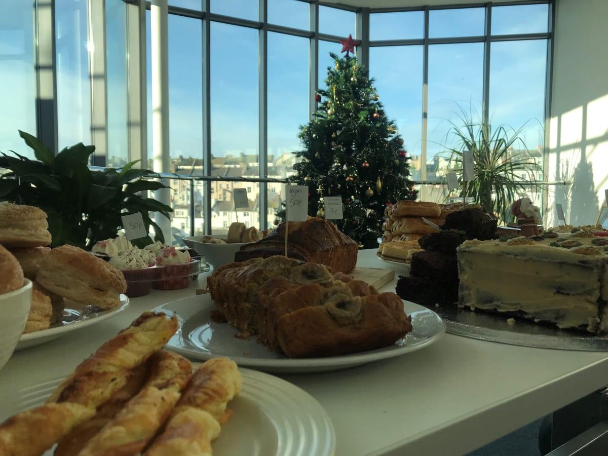 image Annual Charity Christmas Bake Sale