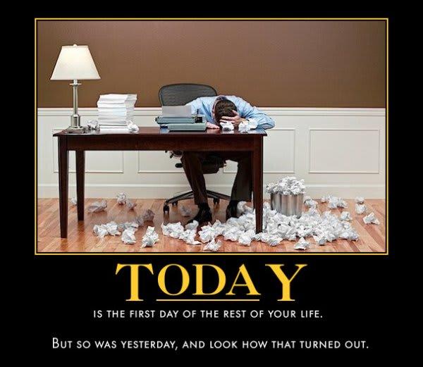 Office demotivation