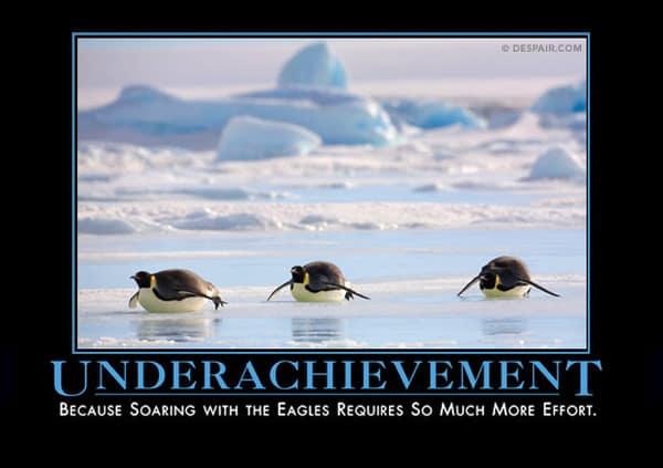 Underachivement meme