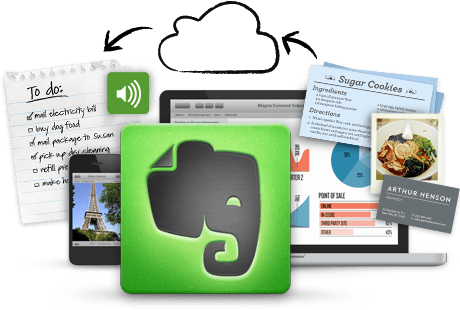 Evernote shot