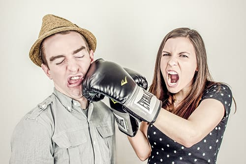 Boxing Glove Fight